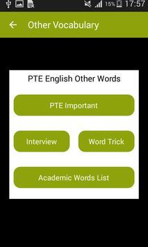 Vocabulary for PTE screenshot 4