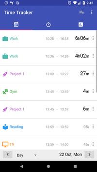 Time Tracker screenshot 1