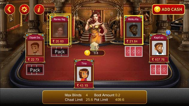 Teen Patti Cash screenshot 1