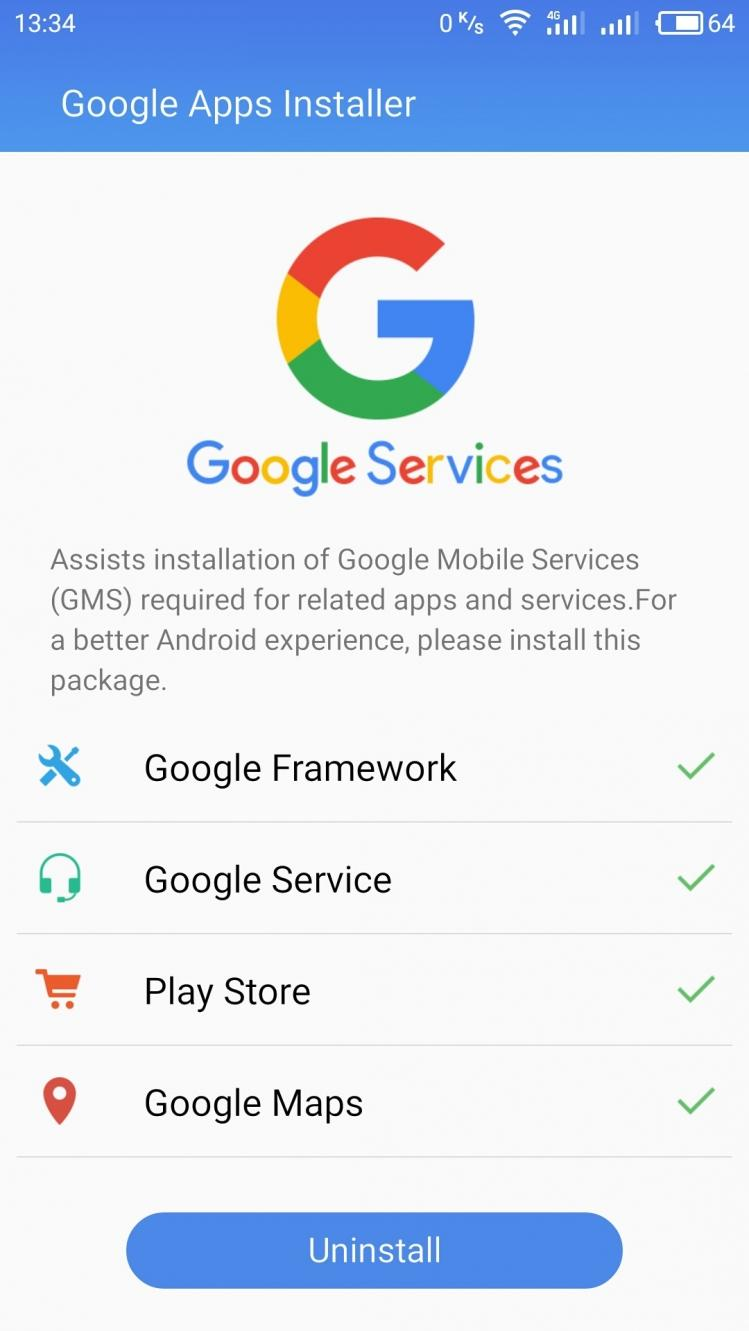 Google Apps Installer for Android - APK Download