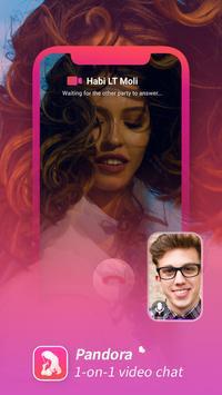 Pandora - Dating App to Video Chat & Meet New Hottie screenshot 1