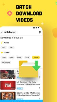 YouTube Downloader and MP3 Converter Snaptube الملصق
