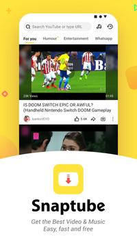 YouTube Downloader and MP3 Converter Snaptube تصوير الشاشة 1