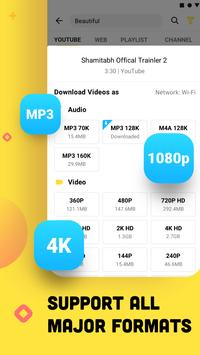 YouTube Downloader and MP3 Converter Snaptube تصوير الشاشة 7