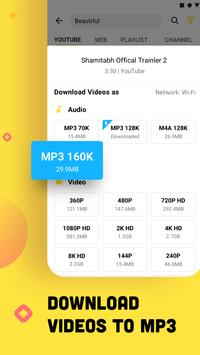 YouTube Downloader and MP3 Converter Snaptube تصوير الشاشة 4