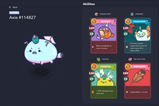 Axie Infinity screenshot 4