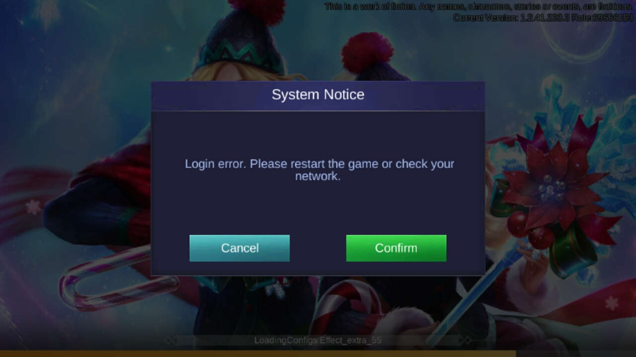 Report why i cant open ألعاب Discussions | Mobile Legends